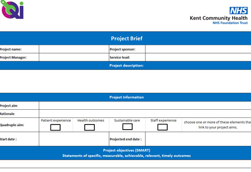 Project plan template image