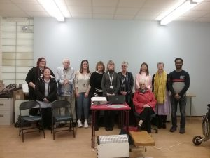 Healthcare assistants at induction