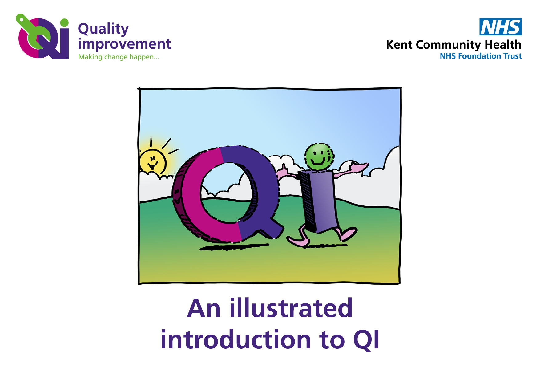 QI virtual training sessions