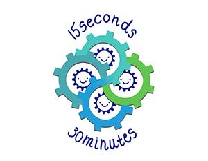 15 seconds 30 minutes logo